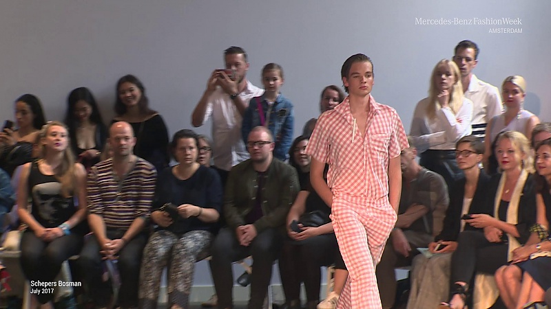Schepers Bosman - Mercedes-Benz FashionWeek Amsterdam July 2017
